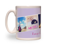 15oz White Photo Mug
